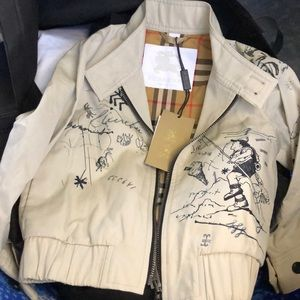 Kids jacket Burberry